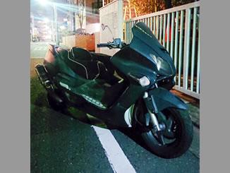 江戸川区北葛西で無料で引き取り処分と廃車手続き代行をした250ccバイクのフォルツァ タイプX