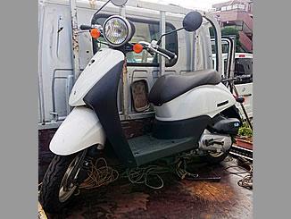 板橋区志村1丁目で無料で引き取り処分と廃車をした原付バイクのトゥデイ FI