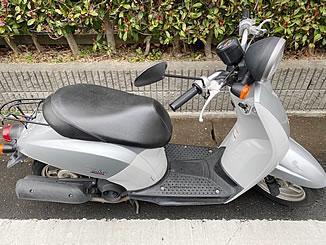 高崎市萩原町で無料で引き取り処分と廃車をした原付バイクのホンダ トゥデイ