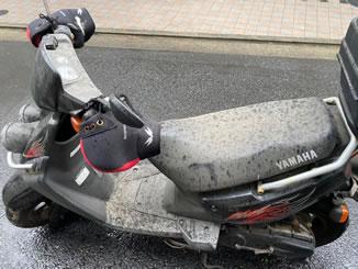 江戸川区一之江7丁目で無料で引き取り処分と廃車をした原付バイクのBW'S100