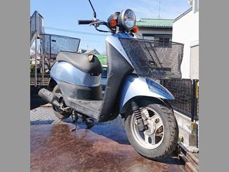志木市下宗岡で無料で引き取り処分と廃車をした原付バイクのトゥデイ FI
