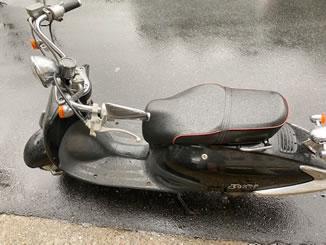 文京区水道で無料で引き取り処分をした原付バイクのホンダ ジョーカー90
