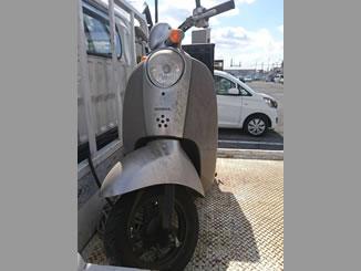 柏市豊四季で無料で引き取り処分と廃車をした原付バイクのクレアスクピー DX