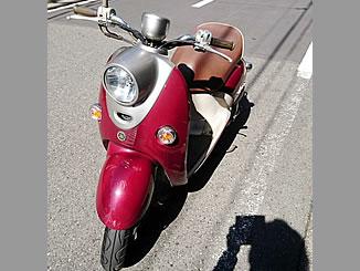 大田区大森中で無料で引き取り処分と廃車をした原付バイクのビーノ4スト