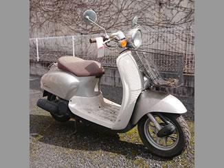 あきる野市高尾で無料で引き取り処分と廃車をした原付バイクのジョルノクレア