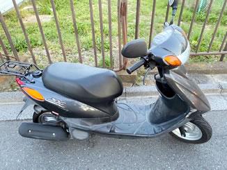 さいたま市桜区白鍬で無料で引き取り処分と廃車をした原付バイクのヤマハ JOG FI