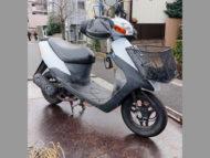 戸田市中町1丁目で原付バイクのレッツ2 STDを無料引き取りと処分