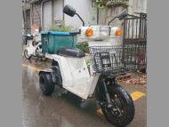 ふじみ野市亀久保で原付バイクのジャイロXを無料で引き取り処分