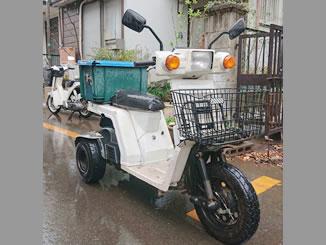 ふじみ野市亀久保で無料で引き取り処分と廃車をした原付バイクのジャイロX
