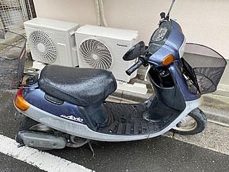 葛飾区鎌倉で無料で処分と廃車をした原付バイクのJOG アプリオ