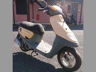 横浜市緑区で無料で引き取り処分と廃車をした原付バイクのJOG C イエローソリッド1色