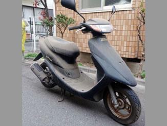 横浜市緑区で無料で引き取りをした原付バイクのライブDio S