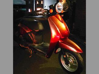 川口市で無料で引き取り処分と廃車をした原付バイクのホンダ トゥデイ