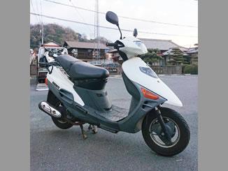 大磯町で無料で引き取り処分をした軽二輪バイクのヴェクスター150