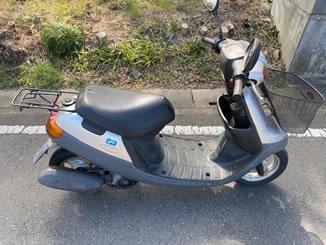 熊谷市で無料で引き取り処分と廃車をした原付バイクのJOG アプリオ