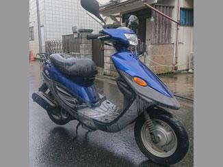 練馬区で無料で引き取り処分と廃車をした原付バイクのヤマハ BJ