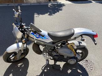 浦安市で無料で引き取り処分と廃車をした原付バイクのストリートマジック50