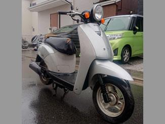 昭島市で無料で引き取り処分と廃車をした原付バイクのホンダ トゥデイ