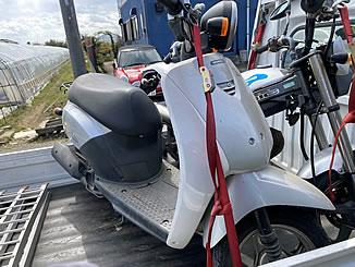 加須市で無料で処分と廃車をした原付バイクの初代トゥデイ