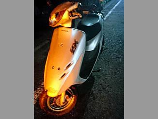 川口市上青木1丁目で無料で引き取り処分と廃車をした原付バイクのライブDio ZX