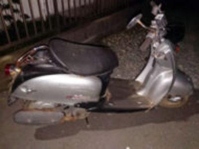 川崎市中原区中丸子で原付バイクのビーノ クラシックを無料引き取り処分