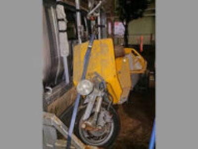 足立区皿沼1丁目で原付バイクのジャイロUPを無料引き取り処分