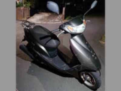 港北区鳥山町で原付バイクのDio FIを無料引き取り処分