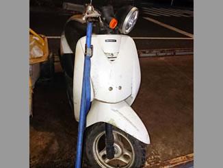 足立区六町で無料で引き取り処分と廃車をした原付バイクのトゥデイ