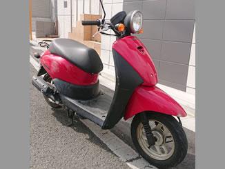 練馬区氷川台で無料で引き取り処分と廃車をした原付バイクのトゥデイ FI
