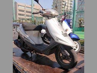 文京区向丘で無料で引き取り処分と廃車をした原付バイクのアドレスV100