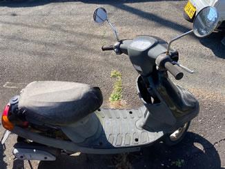 保土ケ谷区川島町で無料で引き取り処分と廃車をした原付バイクのJOG アプリオ