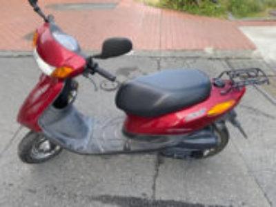 日野市万願寺で原付バイクのJOG FIを無料引き取り処分と廃車