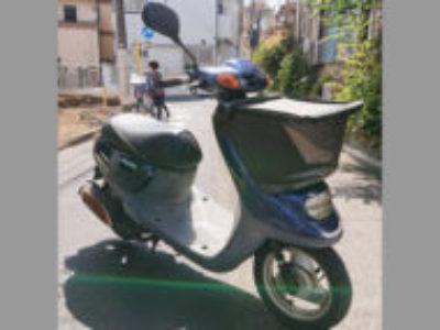 品川区荏原で原付バイクのJOG ポルシェを無料引き取り処分