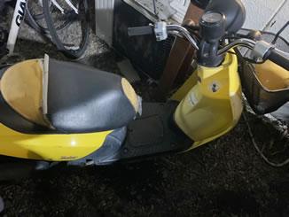 世田谷区駒沢で無料で引き取り処分と廃車をした原付バイクのトゥデイ