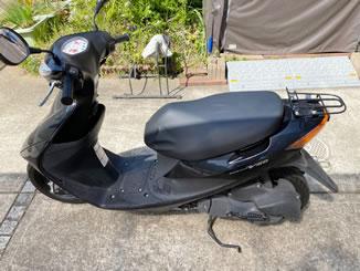 佐倉市生谷で無料で引取処分と廃車をした原付バイクのアドレスV50