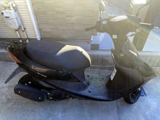 旭区本村町で無料で引き取り処分と廃車をした原付バイクのアドレスV50