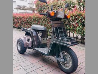 足立区新田で無料で引き取り処分と廃車をした原付バイクのジャイロX