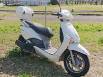 稲城市若葉台で原付バイクのリード110を無料で引き取り処分