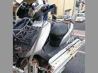 横浜市西区中央で無料で引き取り処分と廃車をした原付バイクのDio