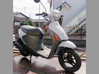 さいたま市桜区西堀で無料で引き取り処分と廃車をした原付バイクのレッツ4G