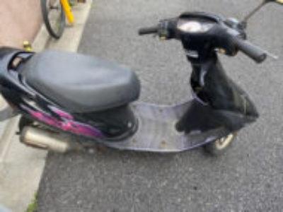 練馬区富士見台で原付バイクのスーパーDio ZXを無料で引き取り処分
