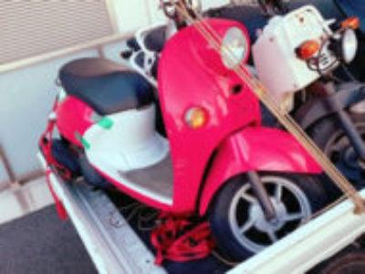 船橋市前原東で原付バイクのビーノを無料引き取り処分と廃車