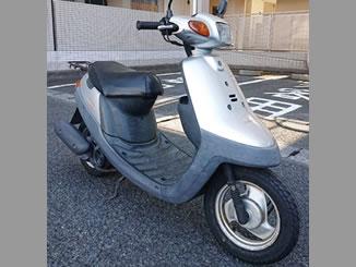 鎌倉市岡本で無料で引き取り処分と廃車をした原付バイクのJOG アプリオ