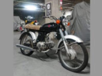 千葉市美浜区高洲で原付バイクのベンリィ50Sを無料引き取り処分と廃車