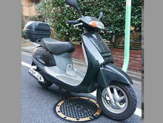 世田谷区船橋で無料で引き取り処分と廃車をした原付バイクのリード50