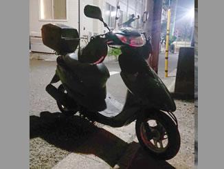 練馬区中村で無料で引き取り処分と廃車をした原付バイクのDio FI