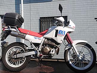 朝霞市西原で無料で引き取り処分をした250ccバイクのAX-1