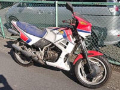 朝霞市西原2丁目で250ccバイクのMVX250Fを無料引き取り処分