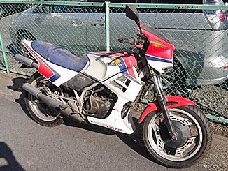 朝霞市西原で無料で引き取り処分と廃車をした250ccバイクのMVX250F