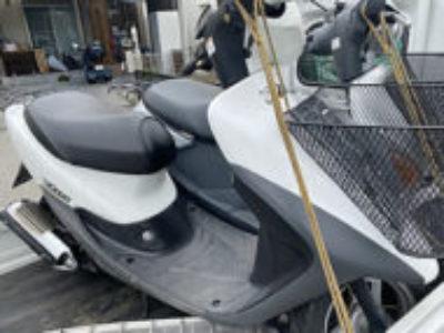 川口市南鳩ヶ谷6丁目で原付バイクのライブDio Jを無料で引き取り処分